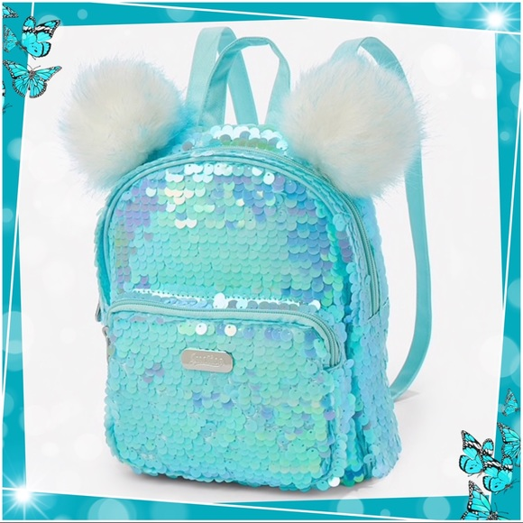 Clothing, Shoes & Accessories girls backpack *New With Tags* Justice Girls Can Flip Sequin MINI Backpack